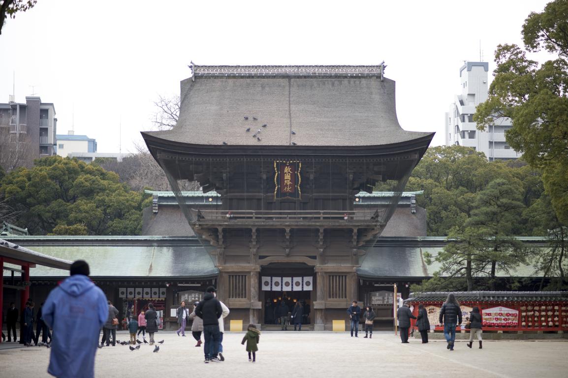 福岡 筥崎宮