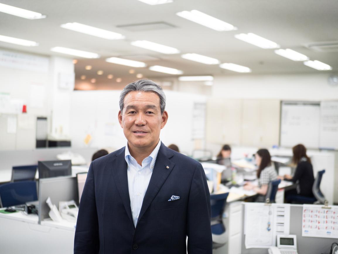 アクタ 代表取締役社長 柴田伊智郎