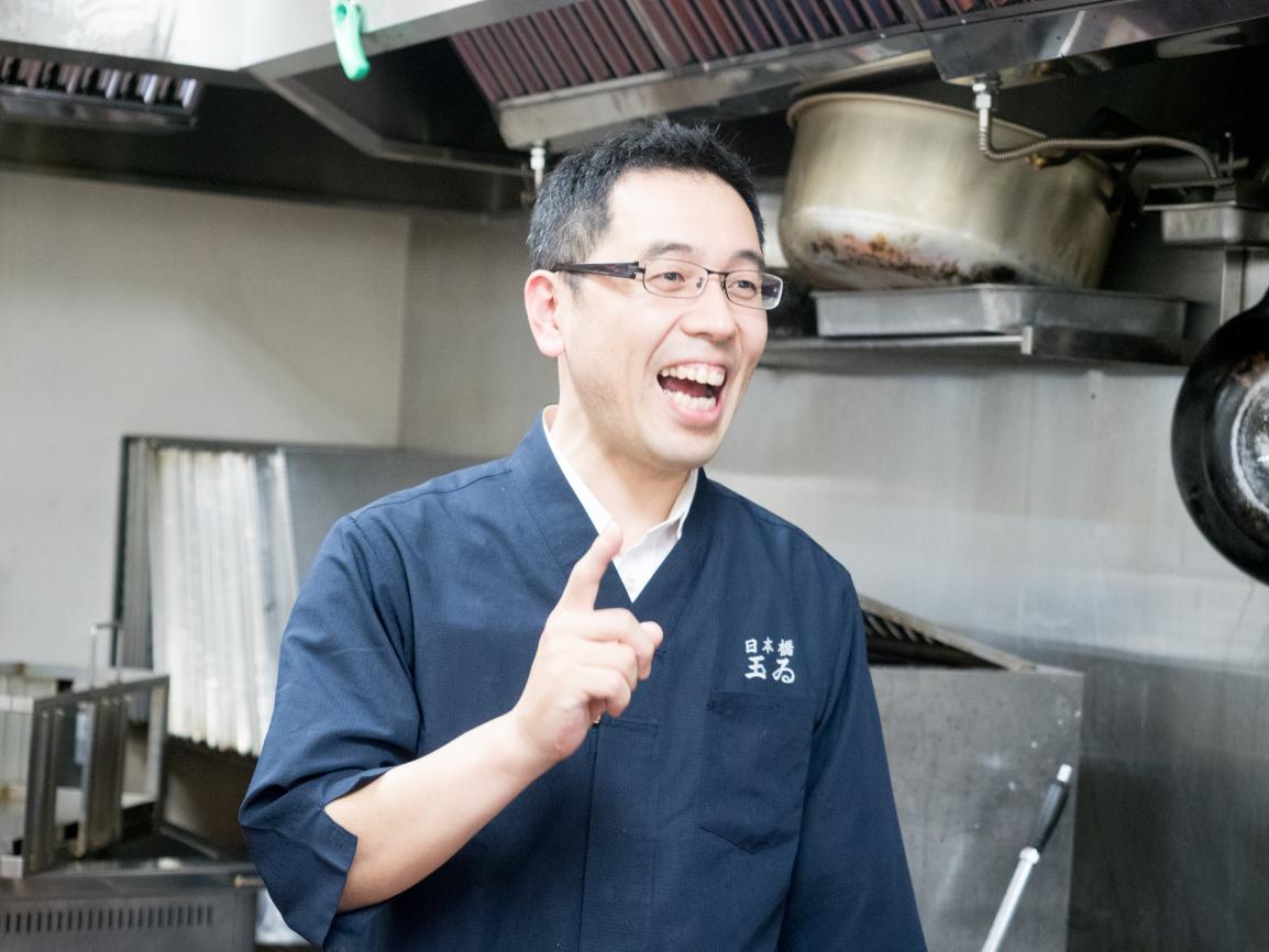 日本橋玉ゐ 佐藤営業部長