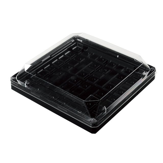 ワン折 90 × 90D 黒エンボス