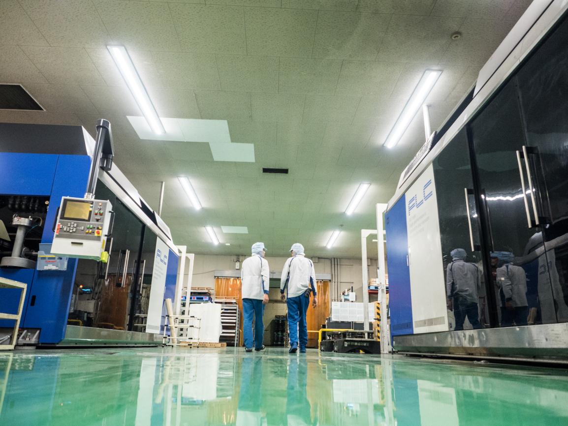 アクタ 古賀工場内部