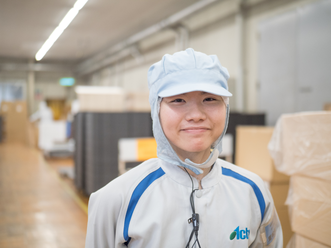 株式会社アクタ 製造部 副主任 重松知美 image02