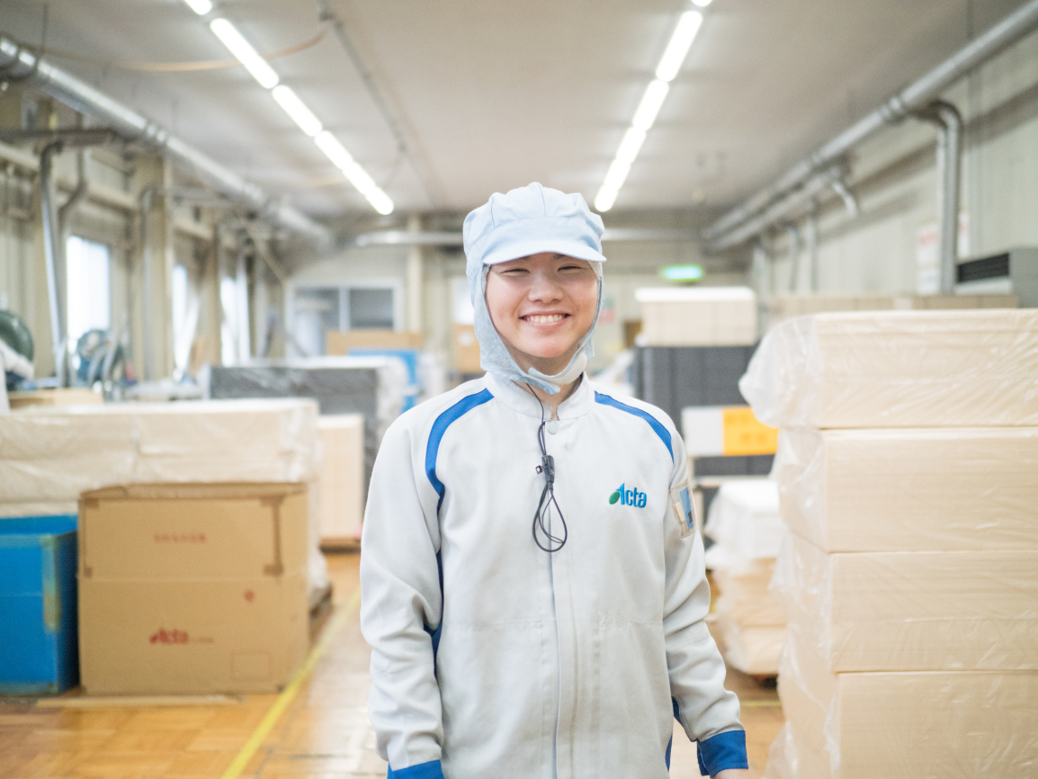 株式会社アクタ 製造部 副主任 重松知美 image03