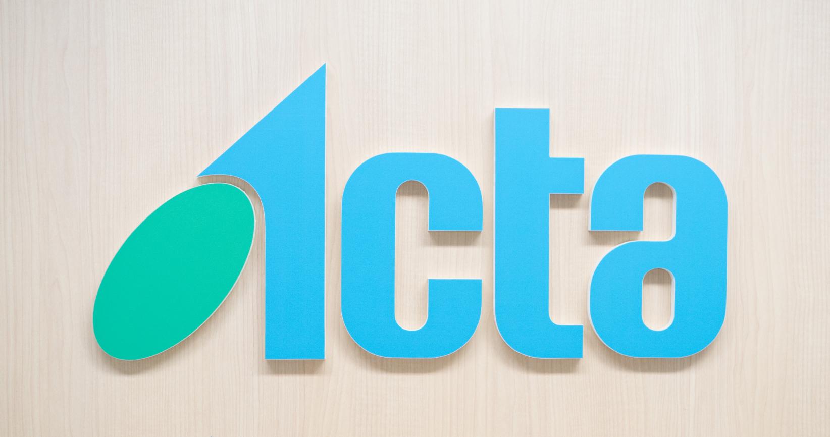 アクタ東京オフィス ロゴ