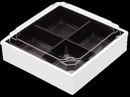 HW-60C白エンボス黒