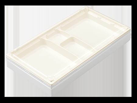 ワン折重90×48L 白エンボス