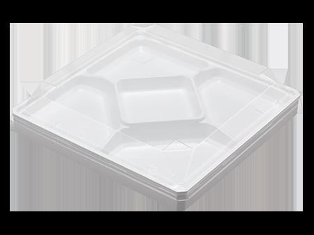 ワン折90×90G 白エンボス