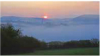 コッツウォルズの朝霧